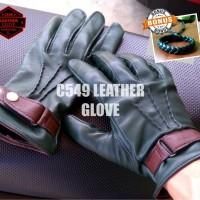sarung tangan kulit motor termurah pria/wanita