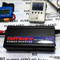 INVERTER PSW 500W PURE SINE WAVE GELOMBANG SINUS MURNI 12VDC - 220VAC