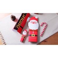 kertas bungkus kado natal, kertas coklat tema natal, kertas natal