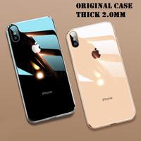 IPhone X XS XR MAX Clear Original Soft Case Cover 2.0MM