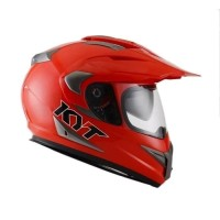 helm KYT ENDURO RED SOLID cross fullface