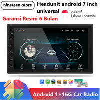 Headunit Android Universal 7 Inch Double Din Head Unit Tape Mobil