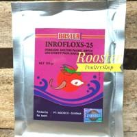 Boster inrofloxs 25 Antibiotik ikan enrofloxacin