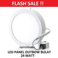 Lampu downlight LED Panel 24W Putih 24 W Watt 24Watt OUTBOW BULAT OB