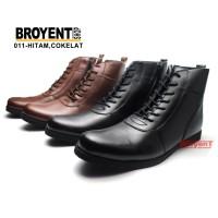 Sepatu Boots Pria Kulit Asli Model Bally resleting 011