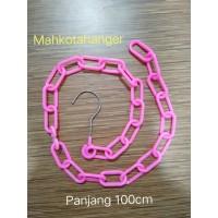 Rantai Gantungan Baju Plastik / Rantai gantungan hanger plastik(100cm)