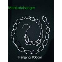 Rantai Gantungan Baju Besi / Rantai gantungan hanger besi (100cm)