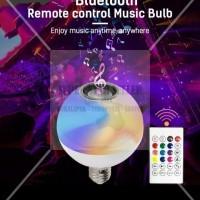 SPEAKER LAMPU LED REMOTE BLUETOOTH HP