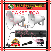 Promo Paket Sound System Audio Masjid TOA Horn ZH5025BM Original
