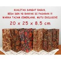 Tas Kertas Batik paperbag Goodie bag Parcel souvenir Exclusive Murah