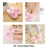 S5 Sandal Rumah Sandal Kamar Home Slipper Slippers Bulu Indoor Dalam