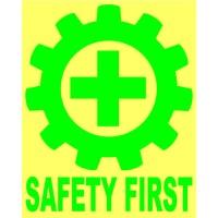 Ready Sticker/Stiker Cutting Logo K3 Safety First Helm