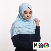 Jilbab Turki Miss Color hijab polos premium katun import 110x110-13