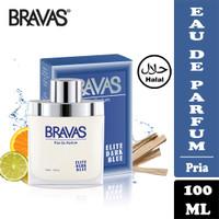 BRAVAS Parfum Pria 100 ML Eau De Parfum Perfume Spray Halal EDP Elite