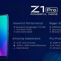 Vivo Z1 Pro Ram 4Gb Rom 64Gb Smartphone New Original PROMO BELI 2