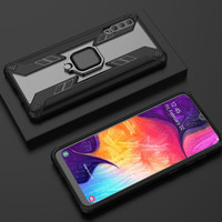 Samsung A20 A30 A50 Soft Case Armor Magnetic Ring Holder