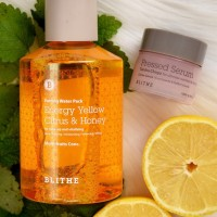 BLITHE Patting Splash Mask Energy Yellow Citrus Honey 200ml