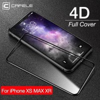 Cafele Full Tempered Glass Anti Gores iPhone X/XS/XS Max/XR/11 Pro Max