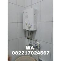 Water Heater Gas Wasser Berikut Pemasangan