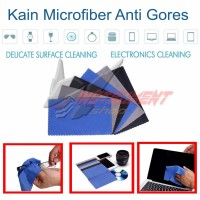 Kain Lap Microfiber Anti Gores Lensa Gelas Kacamata Elektronik Kamera