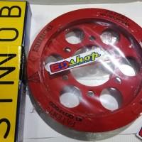 gear SET SINNOB Rantai TK O-RING NEW CBR 150 6 LUBANG BAUT K45N
