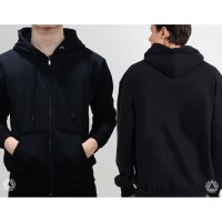 Promo sweater hoodie zipper outerwear pria wanita high quality polos