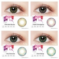 Softlens X2 Bio Four - CHOCOLTE MOUSSE, NORMAL