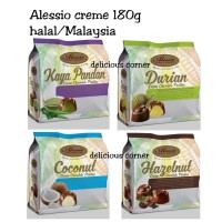 Alessio Creme 150g Chocolate Coklat ciocolatto durian coconut hazelnut
