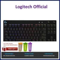 Logitech G Pro X TKL Mechanical Gaming Keyboard GPro GProX ProX - Free Tumbler