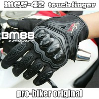 Glove ProBiker MCS-42 Full ~ Touch Screen Pro Biker Sarung Tangan