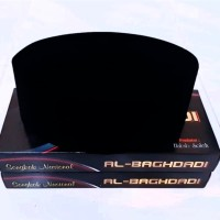 Peci hitam polos murah songkok nasional - Tinggi 9 cm, No 1