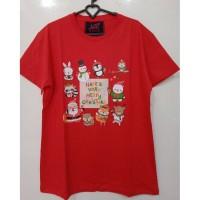 Kaos LCC Merry Christmas All Size