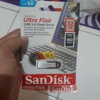 Sandisk Flashdisk 32GB Ultra Flair CZ73 USB 3.0 UP TO 150 MB/S