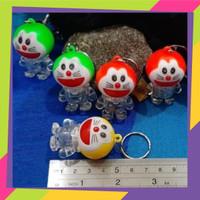 12 pcs Gantungan Kunci / konci Lampu Doraemon / key chain/ sku 173