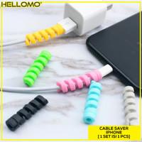 Cable Protector Spiral / Pelindung Kabel / Lightning Saver iPhone Mac