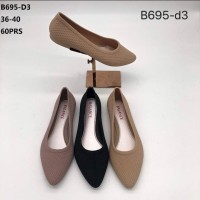 Sepat Flat Wanita Jelly Shoes Casual//BALANCE B695