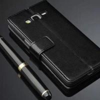 PROMO!!! Leather FLIP COVER WALLET Samsung J2 Prime 2016 G532 case