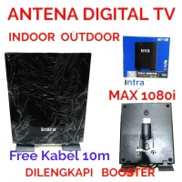 ANTENA DIGITAL TV INTRA INDOR/OUTDOR 118 FRE KABEL 10M
