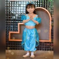 Kostum Jasmine Aladdin | Costume Jasmine Aladdin | Kostum Anak