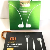 Headset handsfree Earphone OPPO XIAOMI AT-032 AT-034