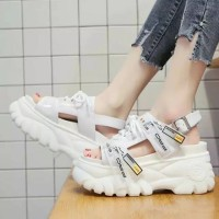 Sendal Sepatu Wanita | Sendal Model Terbaru Wedges | Sendal High Heels