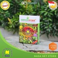 Greenstar Pupuk Organik Serbuk, Pupuk Buah, Bunga, Sayur, Padi Nasa