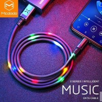 VOX LIGHTNING/ IPHONE DATA CABLE MCDODO Max 2A Length 1M - Hitam
