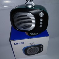 Speaker Bluetooth MD-98 Classis Retro Style