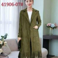 Coat/mantel rumbay Wanita Korean style army