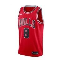 Nike chicago bulls zack lavine swingmen road Jersey basketball
