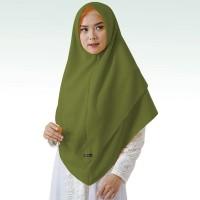 Maula Tanpa pet Antem 2 layer Diamond Hijab Khimar Syari