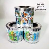 Cup Lid Sealer/Tutup gelas plastik 10 Oz - 16 Oz
