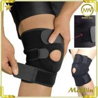 Sport Knee Brace - Penyanggah Lutut Elastis - Kneepad Power Brace