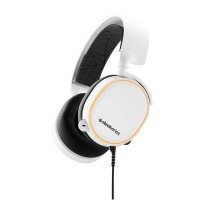 SteelSeries Arctis 5 - RGB Illuminated Gaming Headset with DTS -white-